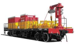 железнодорожный специальный подвижный состав - СПС